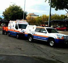 BUENOS DÍAS MUNDOOO desde HUESCA !! Hoy con nuevos ánimos, comenzamos esta jornada mostrando una imagen de los compañero de Proteccióon Civil de Huesca que nos envía el compañero @Edumacin y sus saludos para todos nuestros seguidores. Buenos días Aragón, buenos días mundooo..!! #ProteccionCivil #Huesca #Vir #emergencias #Renault #Tes #Tts #ambulancia #rotativos #sva #svb http://www.ambulanciasyemergencias.co.vu/2015/11/HUELVA.html