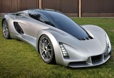 Divergent Microfactories' 3D-printed supercar, the Blade.