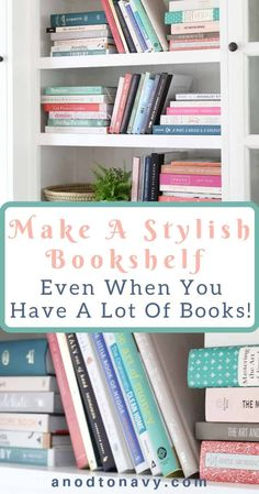 Arranging Bookshelves, Styling Bookshelves, Bookshelves In Living Room, Small Bookshelf, Crate Bookshelf, Ikea Billy Bookcase, Decorating Bookshelves, Family Room Decorating, Bookcase Wall