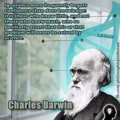 ~ Charles Darwin