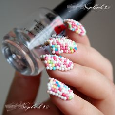 RainPow Nails: Candy Nails - Liebesperlen-Alarm!