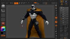 ZBrush Tutorial: Sculpting Thin Pieces of Geometry in ZBrush