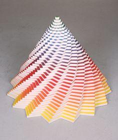Jen Stark y sus increíbles esculturas con papel                                                                                                                                                     Más