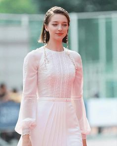 Angelina Danilova, Cute Girls, Cold Shoulder Dress, Bell Sleeve Top, Tunic Tops, My Style, Beauty, Instagram, Dresses
