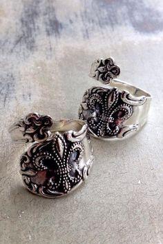Fleur de Lis Spoon Ring