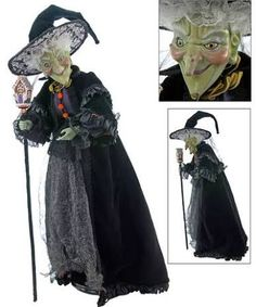 Katherine's Collection Greta Halloween Witch Doll Last One Store Sale! Halloween Miniatures, Halloween Doll, Halloween Treats, Halloween Decorations, Halloween Witches, Halloween Ornaments, Halloween 2018, Halloween Projects, Porcelain Dolls Value