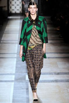Dries Van Noten | Spring 2010 Ready-to-Wear Collection | Style.com