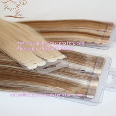 Russian virgin double drawn tape in hair extensions, the highest quality tape in extensions, 0.8x4cm/pcs, tangle free no shedding, factory price, hair salons and wholesaler best choice, welcome visit our website www.uniquehairextension.com or email us  sales@uniquehairextension.com or add us WhatsApp: +8613553058361 for specifications. Qingdao Unique Hair Products Co.,Ltd. #tapeinhair #tapewefts #tapeinextensions #seamlesshair #hairfactory #hairsalon