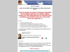 ① Divorce Secrets For Women With High Conversions - http://www.vnulab.be/lab-review/%e2%91%a0-divorce-secrets-for-women-with-high-conversions