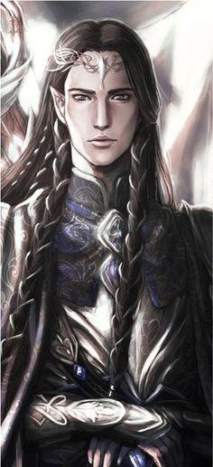 Fingon, el Valiente fue el heredero de Fingolfin como Rey Supremo de los Noldor durante la Primera Edad, y su hijo fue Gil-Galad. Murió en la Batalla de las Lagrimas Innumerables, a manos de Gothmog, señor de los balrog. Se ganó un gran renombre entre los elfos al rescatar a Maedhros de su prisión en Thangorodrim, y también por haber enfrentado y rechazado a Glaurung el dorado.