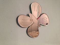 Got a few of these cute butterfly mirror decorations in my room. They reflect the light to make any room look bigger.