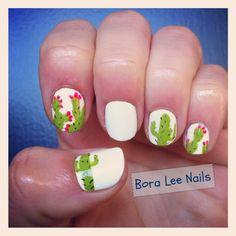 cactus nail art - Google Search