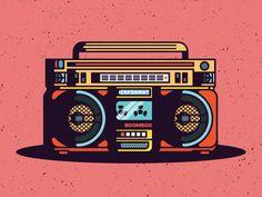 Boombox Framed Art Print by arthurmb Music Collage, Collage Art, Radio Drawing, Estilo Chola, Graphic Design Illustration, Illustration Art, Pop Art Party, Hamsa Art, Old School Tattoo Designs