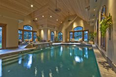 sweet indoor pools. My dream indoor pool Amazing  Home Sweet Pinterest Indoor pools