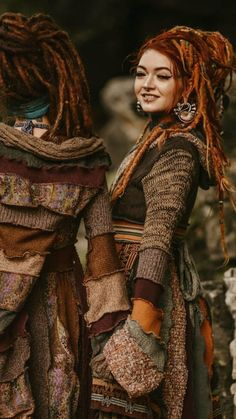 Elfen wardrobe - Home Dread Braids, Rasta Hair, Angry Girl, Bohemian Style, Boho, Dread Hairstyles, We Will Rock You, Hippie Outfits, Red Hair