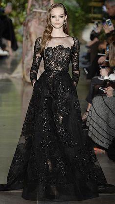 Elie Saab Haute Couture Spring/Summer 2015 via @stylelist