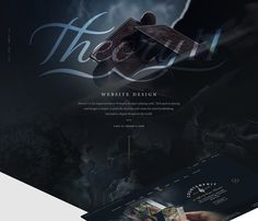 theory11 Website on Behance