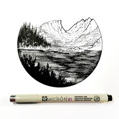 September 18 2016 (Day 873) Pen and Ink 4x4 via /r/Art...
