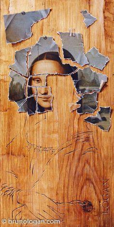 0234 Bruno Logan - Dyptique à la Joconde 1