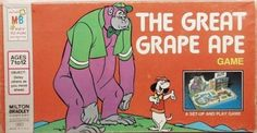 MILTON BRADLEY: 1975 The Grape Ape Game #Vintage #Games