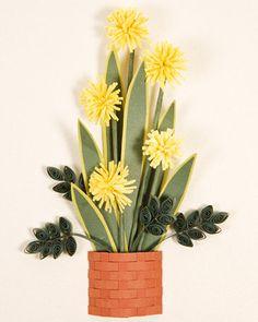 Quilled Flower Designs
