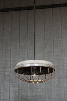 Lighting Industrial Lighting Chicken Feeder Light by LightLady
