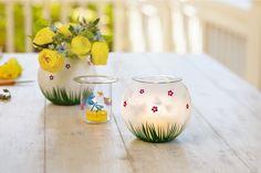 Teelichthalter Schmetterlingstanz, Paar / Porte-bougie à réchaud Envolée de papillons