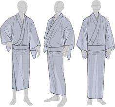Smolinism — tanuki-kimono: Kimono drawing guide ½, by. Guy Drawing, Drawing Base, Manga Drawing, Art Reference Poses, Drawing Reference, Drawing Guide, Tutorial Draw, Male Kimono, Japanese Costume