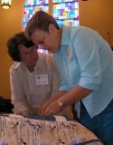 every stitch in a prayer quilt/shawl is imbued with healing energy which gets transmitted to the person who receives it