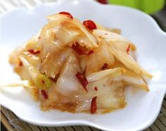 Sweet & Sour Chinese Cabbage