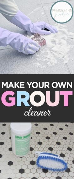 Make Your Own Grout Cleaner