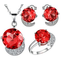 Virgin Shine Platinum Plated Rhinestones Moon Round Jewelry Sets Red VIRGIN SHINE http://www.amazon.com/dp/B00L14A4ZK/ref=cm_sw_r_pi_dp_zGeLub021E46C