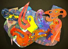 For the Love of Art: Frank Stella, shape collages!