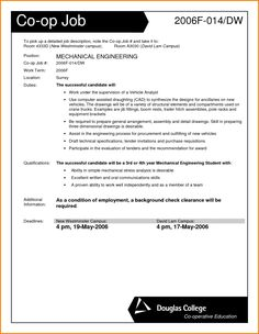 Application Letter For Mechanical Engineering Job Engineer Cover