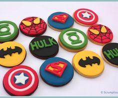"Marvel Super Hero Cookies in ""Cookies!"" — Photo 1 of 1"