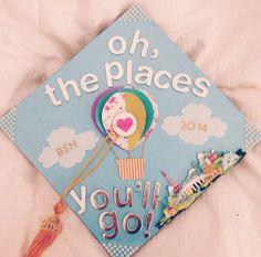Dr. Suess graduation cap