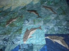 Dolphin quilt