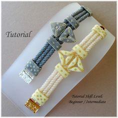 PARVA PAPILIO beaded bracelet beading tutorials and patterns seed bead beadwork jewelry beadweaving tutorials beading pattern instructions