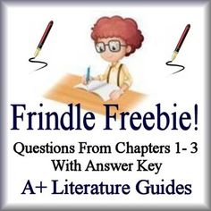 Frindle novel study 40 pages pinterest frindle novels and this is a frindle freebie it is from the novel frindle by andrew clements this freebie contains questions from chapters 1 3 and an answer key publicscrutiny Gallery