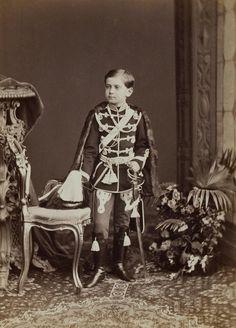 Портрет великого князя Павла Александровича. Россия, 1869 г. Фотограф Бергамаско К. И. 1830-1896