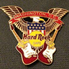 Hard Rock Cafe Washington DC pin