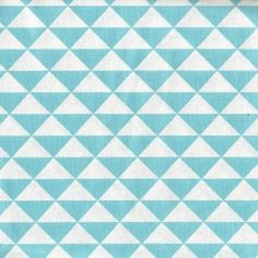 Triangles turquoise* Collection NIMUS