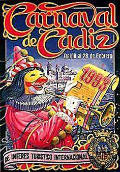 Cartel Carnaval de Cadiz año 1993