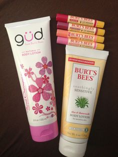 Burt's Bees is my all time favorite when it comes to natural beauty products. I love love LOVE their lip products and lotions.
