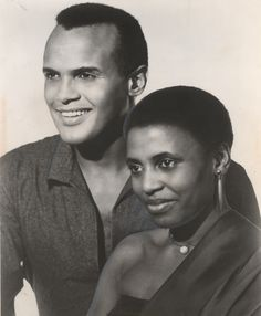 Harry Belafonte And Miriam Makeba