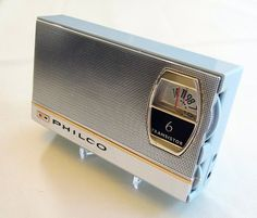 Vintage Philco Transistor Radio, Model AM Band, 6 Transistors, Made in Japan, Circa 1963 Lps, Pocket Radio, Smart Set, Retro Radios, Antique Radio, Transistor Radio, Made In Japan, Record Players, Phonograph