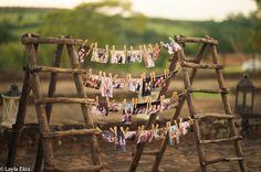 Casamento na Fazenda. Mural de fotos.