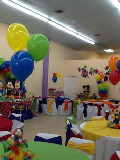 Mickey Party At The Playhouse Mouse Clubhouse Decorations Birthday