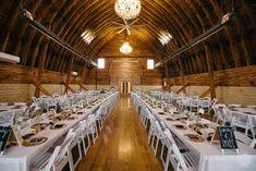 Sylvan Cellars barn wedding reception  The Wedding Story of Justin and Sarah Brandenberger | WeddingDay Magazine