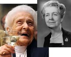 Rita Levi-Montalcini - The oldest living Nobel laureate, she was born in Italy in 1909. Though faced roadblocks by her father, and being forbidden to seek an education, she overcame and went onto to graduate from medical school. Her collaborative efforts with Stanley Cohen would lead to a breakthrough in neurological science for the discovery of the nerve growth factor. This would lead to their winning of the Nobel Prize in Physiology or Medicine in 1986